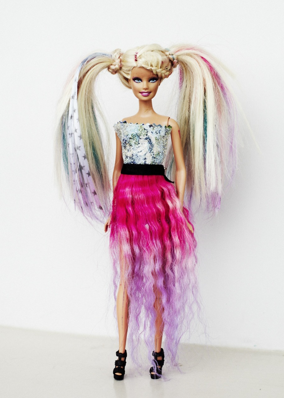 barbie goes punk